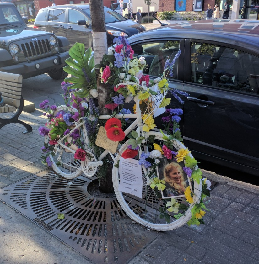 ghost bike montreal